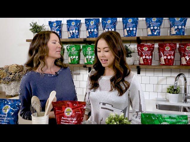 Rogers Foods - Porridge Oats Steel Cut Oat Blend Video