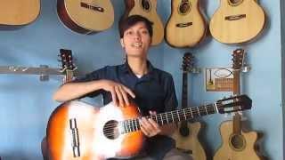Đàn Guitar Giá Rẻ cho người tập chơi 400k (mã T1)| Dạy GUITAR ĐỆM HÁT cơ bản.
