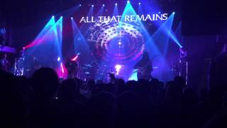 All That Remains - This Probably Won't End Well (Live @ London Music Hall 2015)