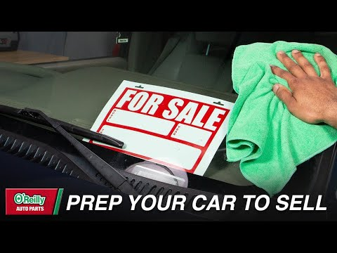 How To: Get Your Vehicle Ready to Sell