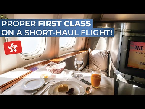 TRIPREPORT | Cathay Pacific (FIRST CLASS) | Boeing 777-300ER | Hong Kong - Taipei Taoyuan