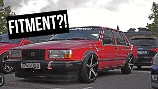 THIS VOLVO HAS FITMENT!! - [VLOGG #111]
