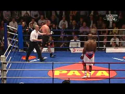 """Evander """"The Real Deal"""" Holyfield vs """"Super"""" Brian Nielsen - Heavyweight Contest - Part 1/2"""