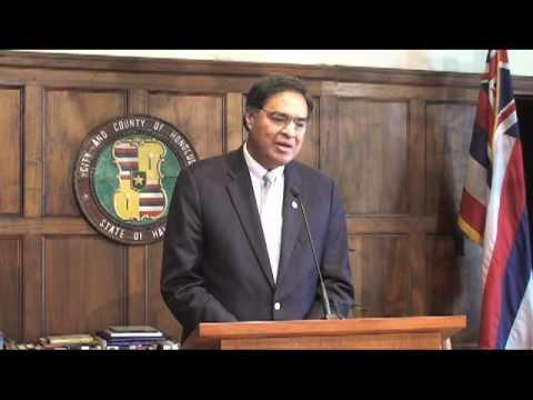 Mayor Hannemann talks about Frank Fasi