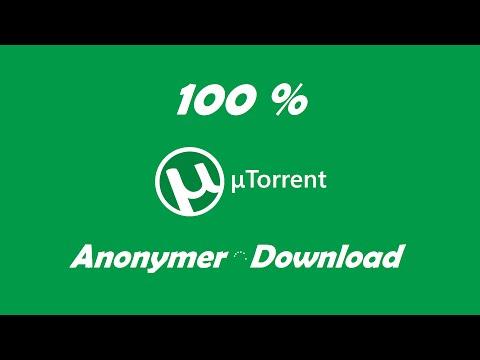 Wie downloade ich anonym(er) mit uTorrent? | 2018