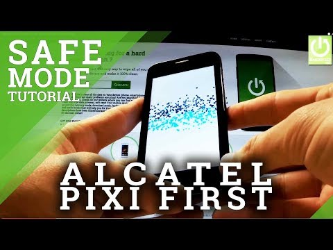 Hard Reset ALCATEL One Touch Pixi First - Bypass Lock Screen / Remove Password