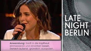 Lena singt das Shampoo-Etikett  | Late Night Berlin | ProSieben