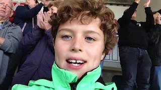 Jonge voetbalfans blikken terug op eredivisie