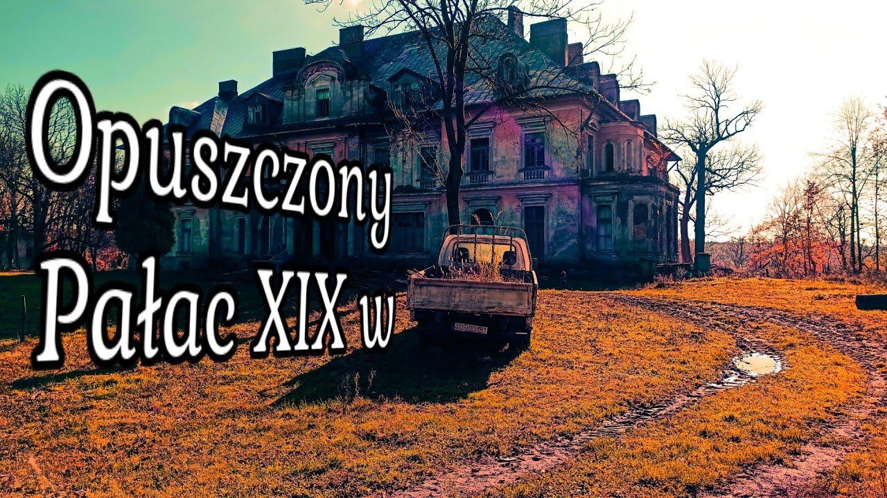 Zapomniany XIX wieczny Pałac. Cmentarzysko samochodów URBEX