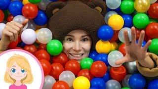 Маленькая Вера и Медведь влог - Развлечения и игры для детей в Joki Joya  парке