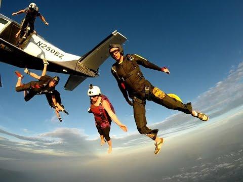 Jump 62 - Skydiving - 7 Way tracking jump