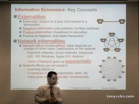 Information Economics - Stanford Strategic Marketing of High Tech and Clean Tech