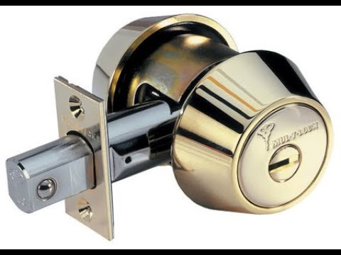 (915) 217-89-10 Mul-t-lock DeadBolt замена личинки замка