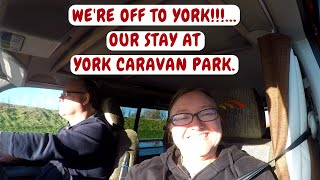 YORK CAMPERVAN TRIP. YORK CARAVAN PARK. NOVEMBER 2017.