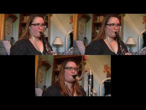 Father Brown Theme Clarinet Trio