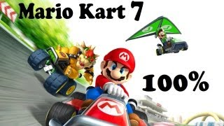 Mario Kart 7 100% (How to unlock all parts, characters, etc.)