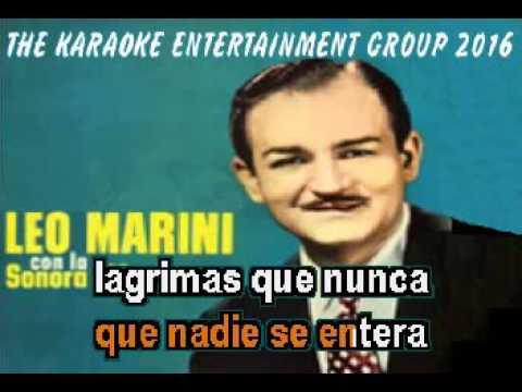 LAGRIMAS DE HOMBRE LEO MARINI PISTA