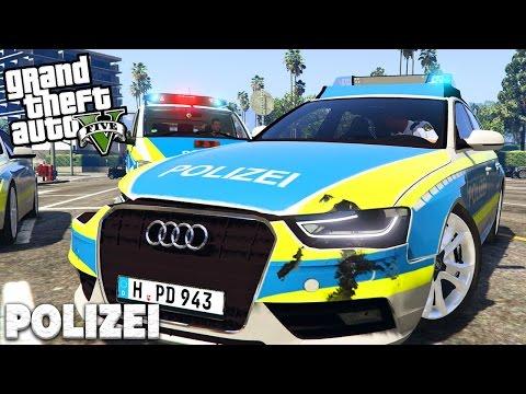 POLIZEI in LOS SANTOS! - GTA 5 POLIZEI MOD - Deutsch - Grand Theft Auto V | LSPDFR