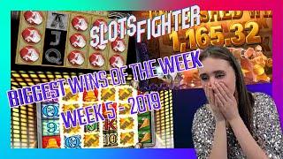 A Whole Week Of Annie MAKING BANK!!! - BIGGEST SLOTS WINS WEEK 5