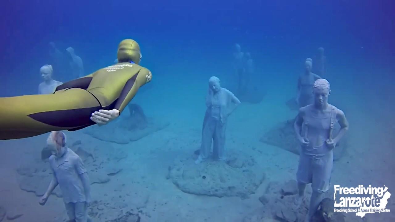 Freediving Lanzarote - Artificial Reef