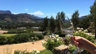 South Africa Day 15 - Franschhoek Wine Valley