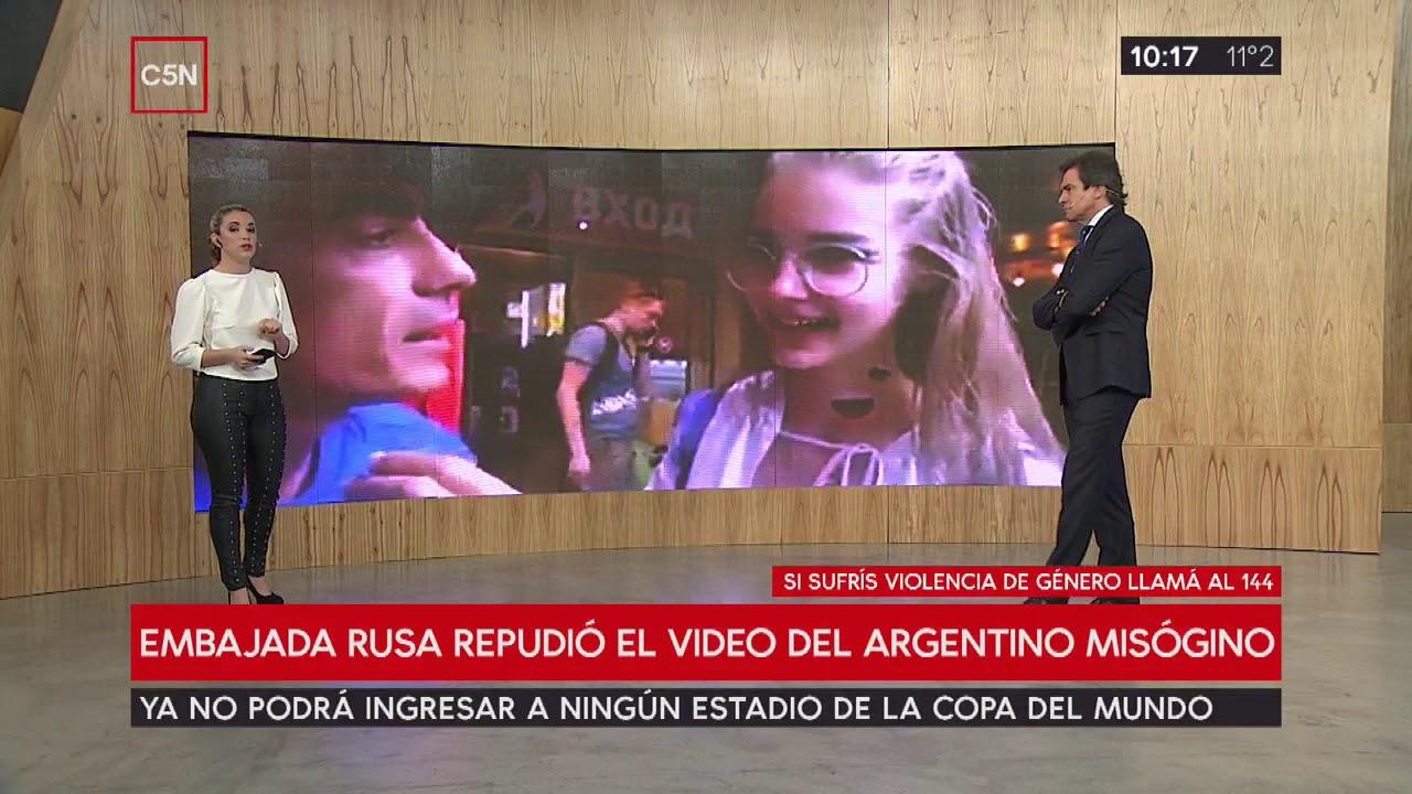 Expulsaron del mundial al hincha argentino del video sexista