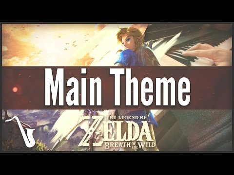 Zelda Breath Of The Wild Main Theme - Jazz Cover || Insaneintherainmusic