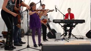 Natalie McMaster playing with her Children - Canterbury Folk Festival, Ingersoll ON. 2013 Desktop