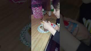 DJ Indoraptor Makes a Kitty Cake. Happy Kitty Birthday