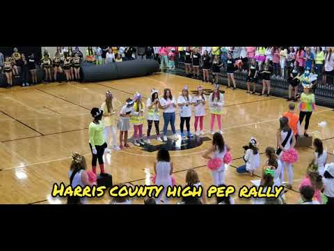 Harris County High School's Pep Rally 11/01/2019