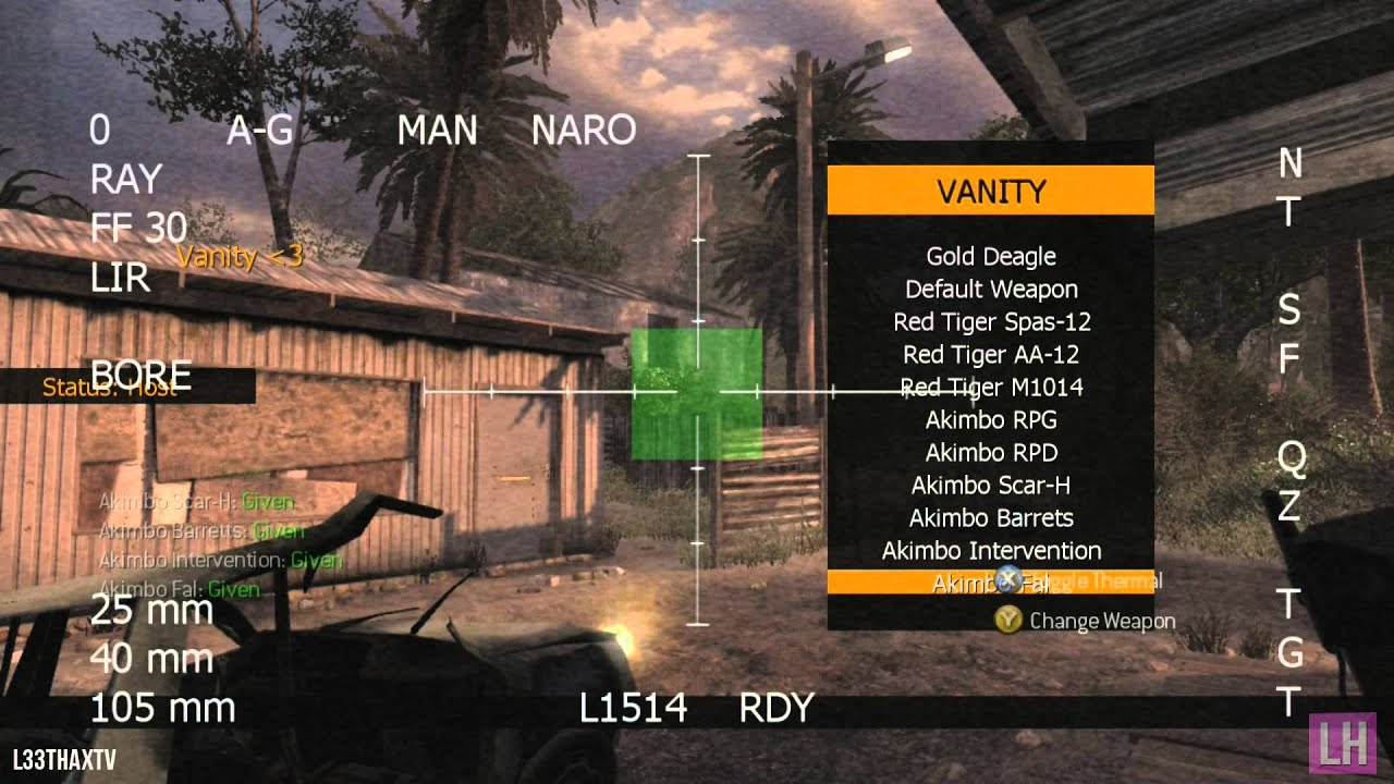 Mw2 Monslaught V1 Mod Menu Tu8 Xbox 360 Jtag Rgh - Year of