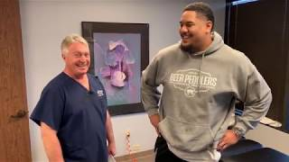 Philadelphia Eagles Halapoulivaati Vaitai -Offensive Tackle Gets His First Big Ring Dinger®