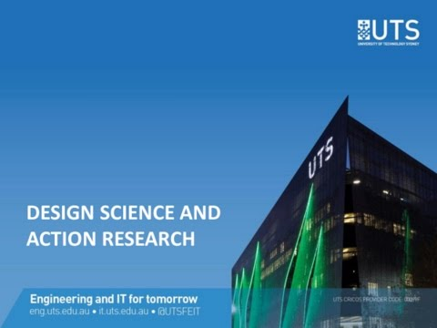 Design science and action research