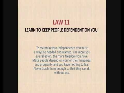 48 Laws Of Power Quotes Endearing The 48 Laws Of Power  Part 01 Of 03  Youtube