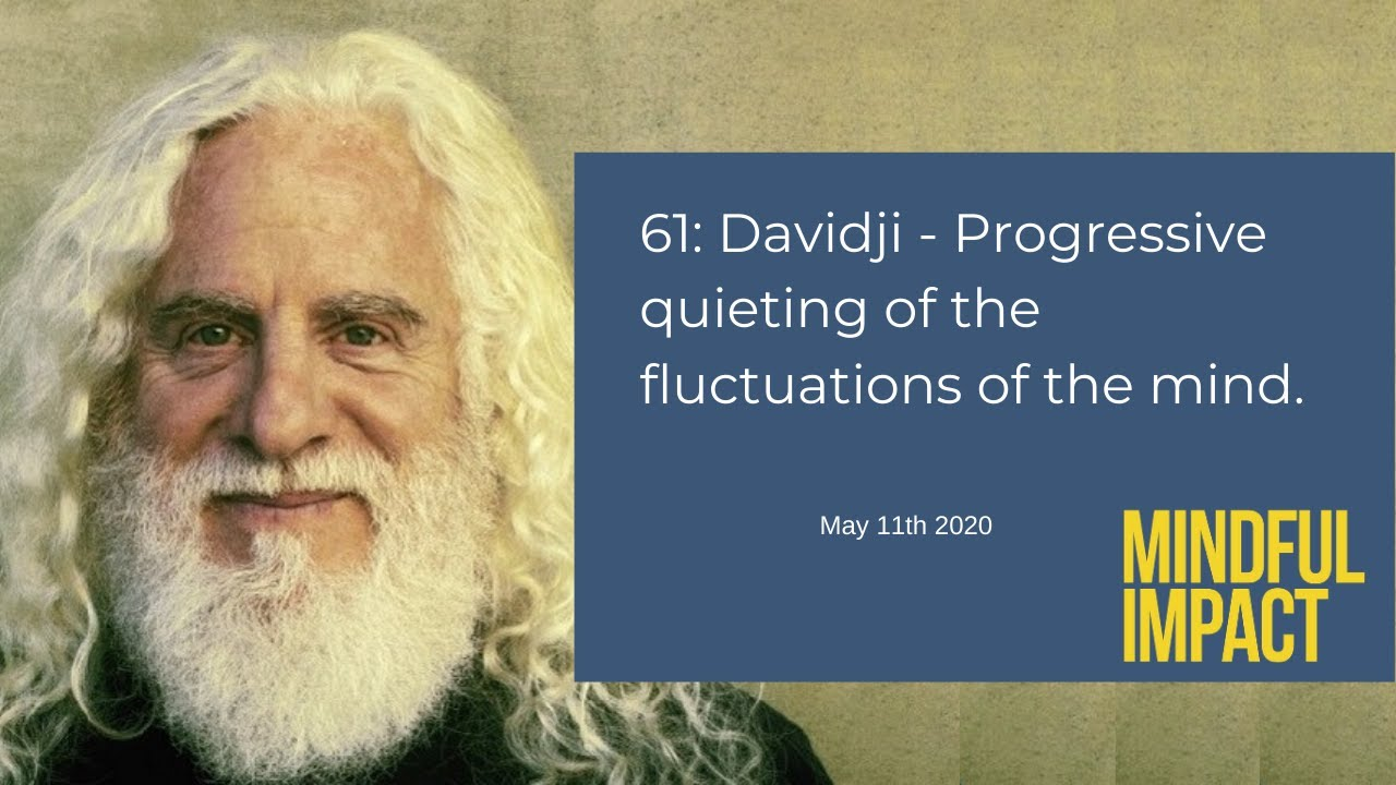 61: davidji - Progressive quieting of the fluctuations of the mind