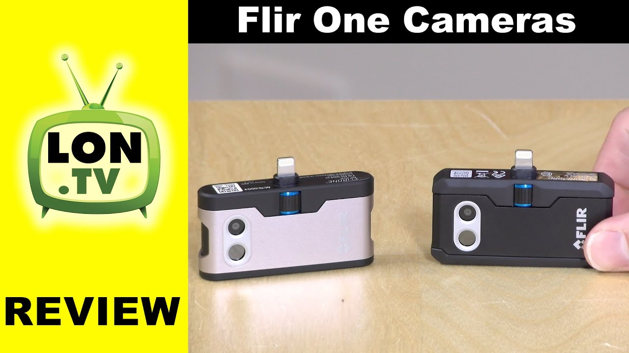 Flir One & Flir One Pro Cameras for iPhone Review - Thermal Imaging Camera  for Smartphones