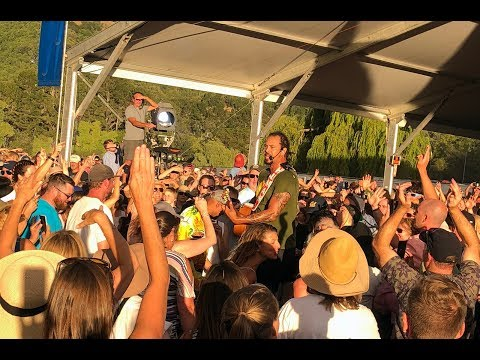 Michael Franti at the Marin County Fair -  2018