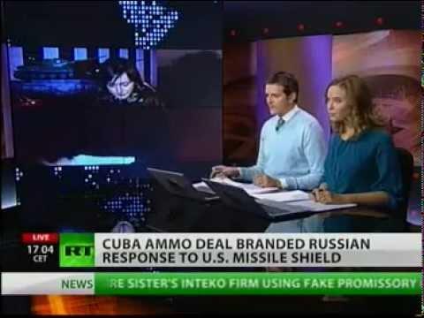 Russian arms in US backyard... Back in Cuba