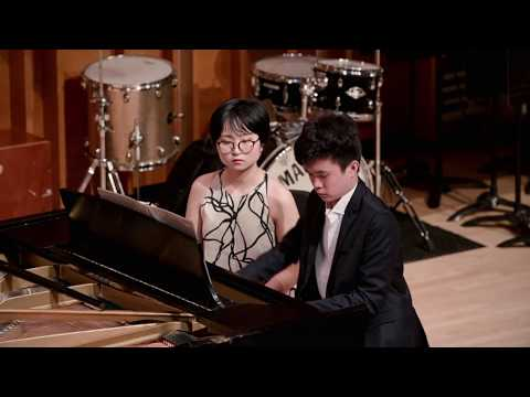 Special Music School High School performs Rachmaninoff's Suite No. 2 for Two Pianos, Op. 17