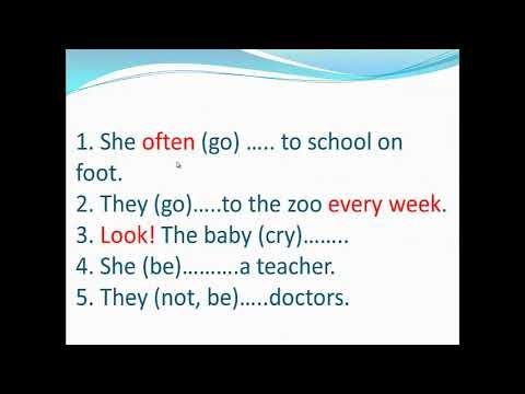 Bài tập chia thì trong Tiếng Anh || Buổi 1 || Tiếng Anh cho người mất gốc