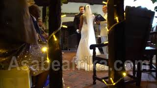 Video of General Jemibewons daughter Omololas fairy tale wedding to British Army officer