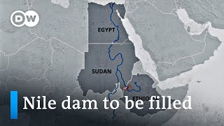 Ethiopia starts filling disputed River Nile dam | DW News