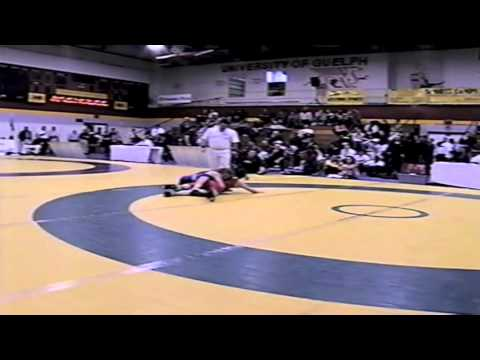 2002 Senior National Championships: 55 kg Kate Eckhart vs. Ellen Macro