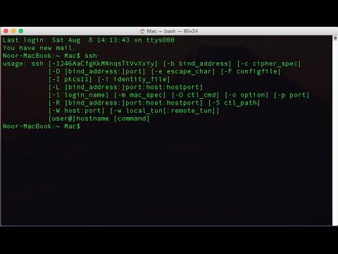SSH Server Setup & Config | Kali Linux | Mac OS X | Windows 7/8 1/10