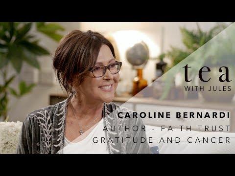 Tea with Jules with cancer survivor Caroline Bernardi