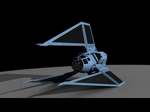 Tie Phantom - X-wing miniatures bemutató