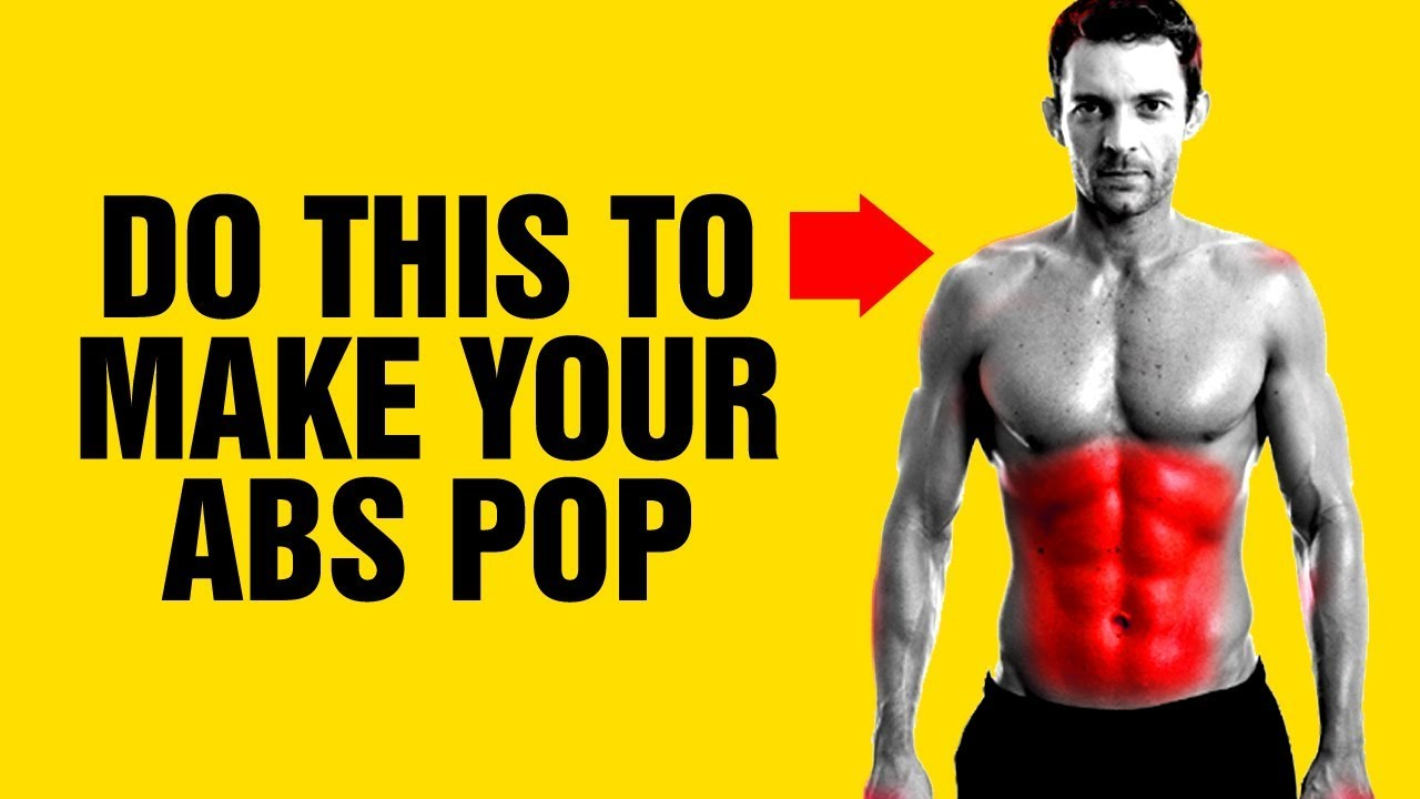 how to build abs at home
