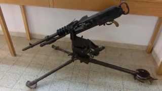 Mitrailleuse Automaticue Hotchkiss machine gun