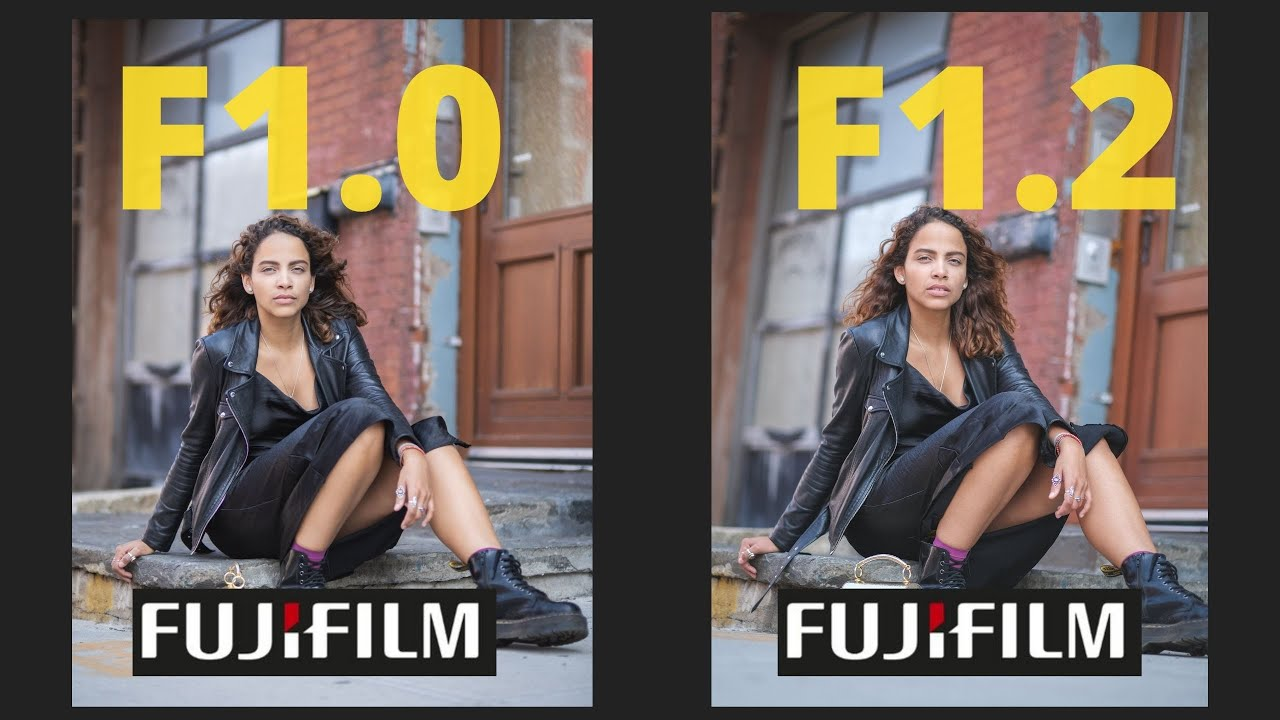 I started with the 56mm and ended with the NEW Fujifilm 50mm 1.0!