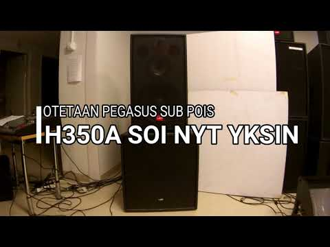 LEM H350A + PEGASUS SUB ON  OFF Soundion Oy LTD